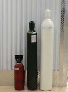 Industrial Gas Cylinders for sale - Argon, Co2, Oxygen