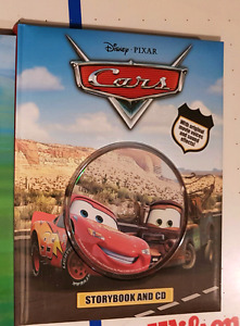 Cars Book with CD