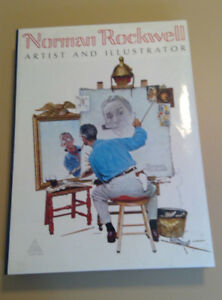 1970 NORMAN ROCKWELL, Artist and Illustrator Book