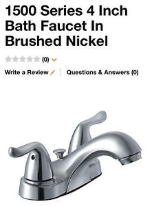 BRAND NEW Glacier Bay faucet BRUSHED NICKEL London Ontario image 1