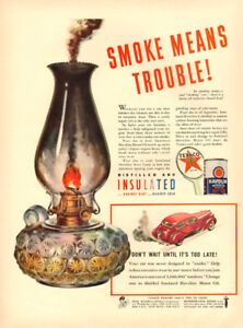1941 full page color ad for Texaco Havoline Motor Oil