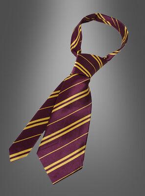 Harry Potter Gryffindor Krawatte Zauberer auch für Hermine - Harry Potter Hermine Granger Kostüm