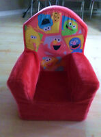 Sesame's Street Plush Chair