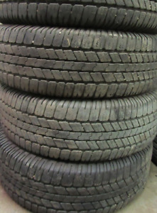 4 good used tires 18 inch=LT265=70=18===65% Tread Remaining