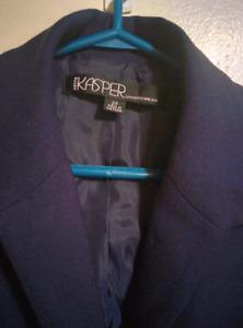 Petite Kasper Sports Wear, Vintage Blazer/ Coat, Women, Small