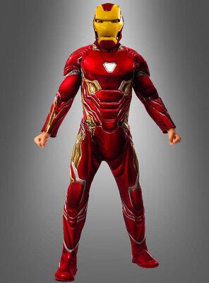 r Herren Mark 43 Superheld Karnevalskostüm (Superheld-kostüm Für Herren)