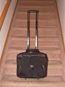 Targus Rolling (or Carrying) 3 Compartment Laptop Bag