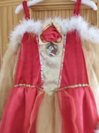 Disney, Beauty, dressing up costume, age 5-7