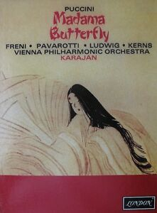 "Coffret ""Madama Butterfly"" Cassette Box Set."