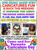 Big Holiday Market - Downsview - Family Fun and CARICATURES