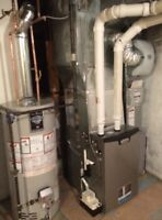 Furnace from 2999$, Hot Water Tank 1100$, Air Conditioner 2999$.