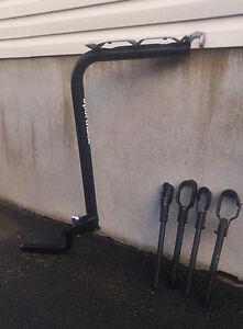 Rack à vélos en acier pour auto / Steel bike rack for car