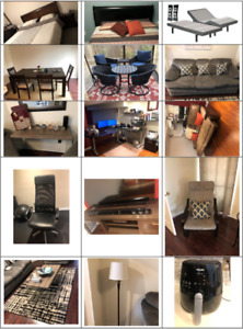 **BLOWOUT** MOVING SALE - FURNITURE | ELECTRONICS | DÉCOR | MORE
