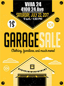 Villa 24 Annual Multi Unit Garage Sale