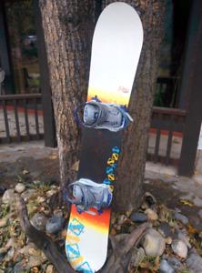 Rossignol Diva 153 Snowboard with bindings