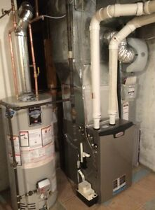 Furnace full install Only from 2999$ !!! Hot Water Tank, Air Con