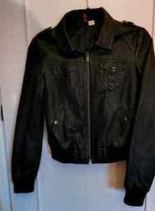 H&M Faux leather jacket West Island Greater Montréal image 1