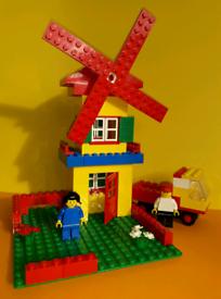 Vintage Lego Set Number 555