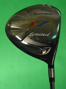 TaylorMade r7 Limited Patriot 9.5° Driver Factory REAX 60 Graphi