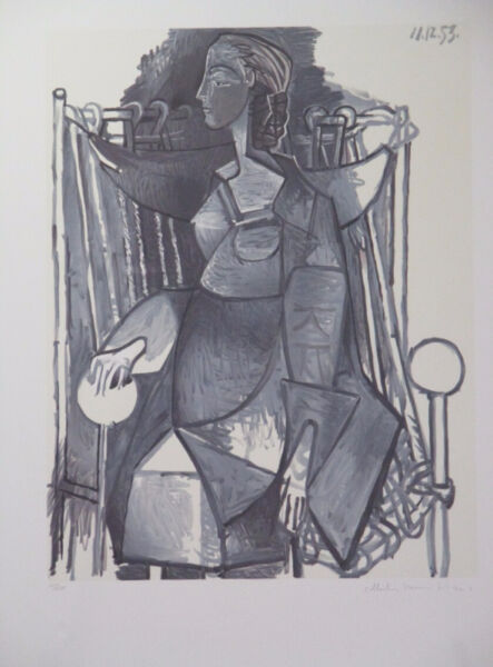 Exceptional Limited Edition Lithograph Print by Pablo Picasso!