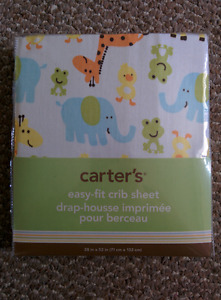 Carter's Crib Sheet - NEW