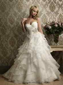 Wedding dress size 6  (white)