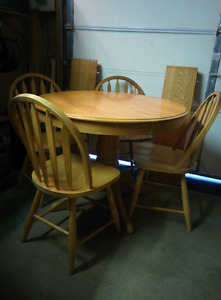 DINNING TABLE& CHAIRS
