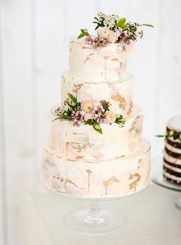 cake by CakeWalk Bake Shop // photo by Sara & Rocky Photography