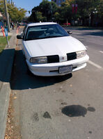 1992 Oldsmobile Achieva white Sedan