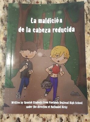 La Maldicion de la cabeza reducida -- Intermediate Reader for Spanish class