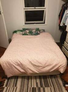 Double bed and base at $70