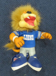 Detroit Lions Official NFL Plush Team Mascot 1994 by Stuffins