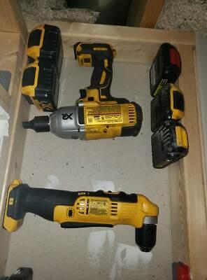5x5 ComboPack Dewalt 20V 5 Tool Holders and 5 Battery Holders