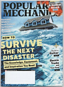 Popular Mechanics Magazine March 2018 Survive the Next Disaster