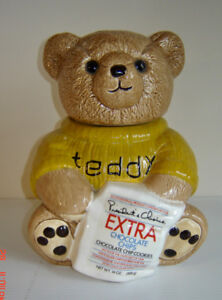 Vintage Collectible President's Choice Teddy Bear Cookie Jar