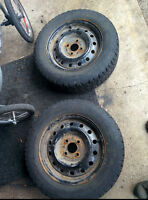 Snow tires for Honda/Acura/Toyota/VW- 2 only