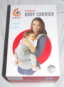 Like New Ergobaby Baby Carrier with Rain Shield & Teething Pads