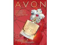 Avon makeup perfume free gifts children men ladies kitchen bath clothes - Would you like a book ?