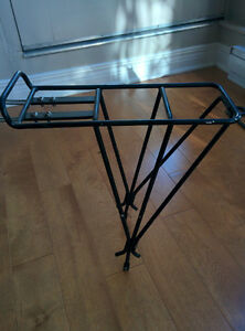 Rear pannier rack for MTB