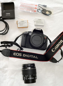 CANON EOS Rebel T4i with Canon zoom lens EF-S 18-55mm 3.5-5.6