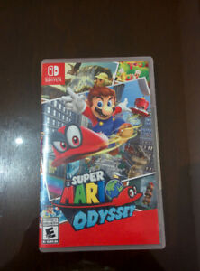 ~MINT CONDITION MARIO ODYSSEY FOR NINTENDO SWITCH~