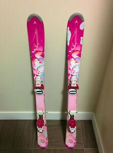 FOR SALE: Kids (Girls)  Downhill Skis (100cm)