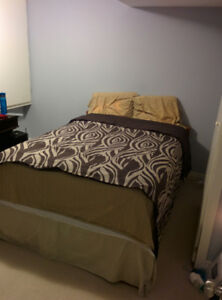 Dec 1st:Furnished and Non smoking clean bed Room near Down Town