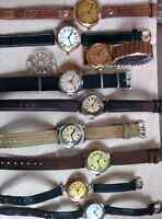Military watch collection