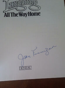 Laughing All The Way Home, Joan Finnigan, Signed, 1984 Kitchener / Waterloo Kitchener Area image 2