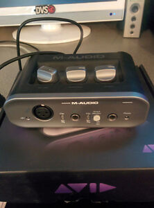 M-Audio Fast Track USB Audio Interface (Pro Tools SE Incl.)