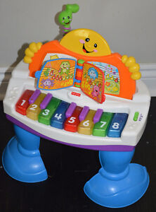 Fisher Price Baby Grand Piano