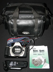Canon SLR Film Cameras, Lens, Flash & Bags