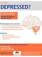 Are you Depressed and 20-55 years old? PARTICIPATE IN RESEARCH