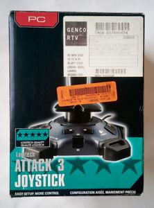Refurbished Logitech Attack 3 Joystick (963291-0403)